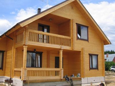 Дома из бруса. Проекты деревянных брусовых домов