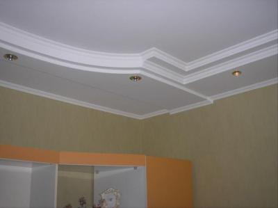 Ремонт и отделка потолков