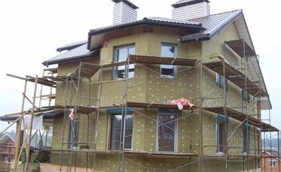 утеплитель для стен - минеральная вата
