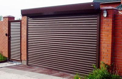 гаражные ворота ролеты