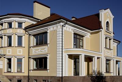 пенопластовый декор фасада